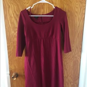 Talbots red dress - comfortable